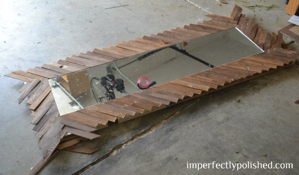 mirror frame all shims